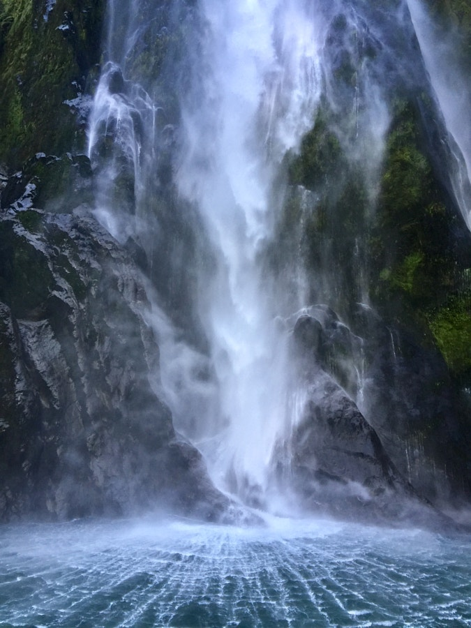 Waimanu Falls - Milford Sound, New Zealand