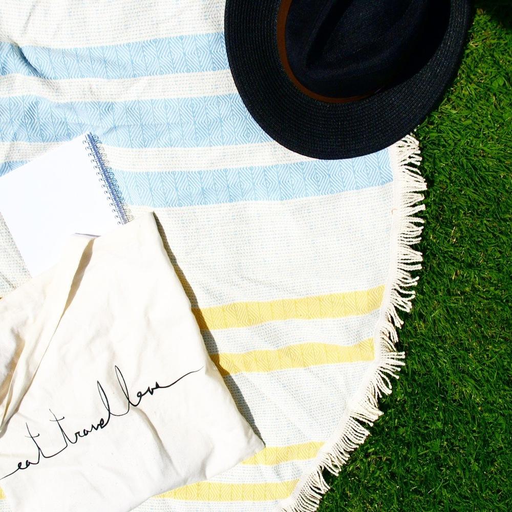 Handmade Round Beach Towel