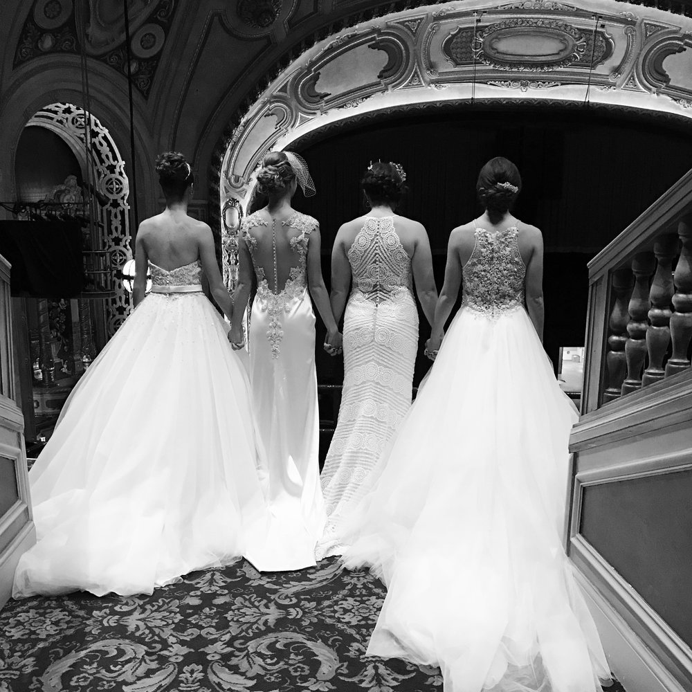 The 13 things you should know before going wedding gown shopping we encourage you to try on all silhouettes your first time out to really help you see what styles you like on your body you might surprise yourself solutioingenieria Image collections