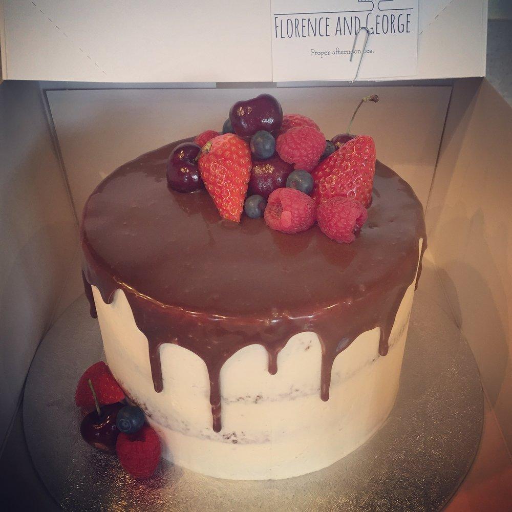 Gluten free vanilla chocolate drip cake.jpg