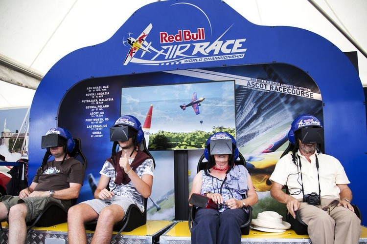Red Bull Air Race Virtual Reality Simulator