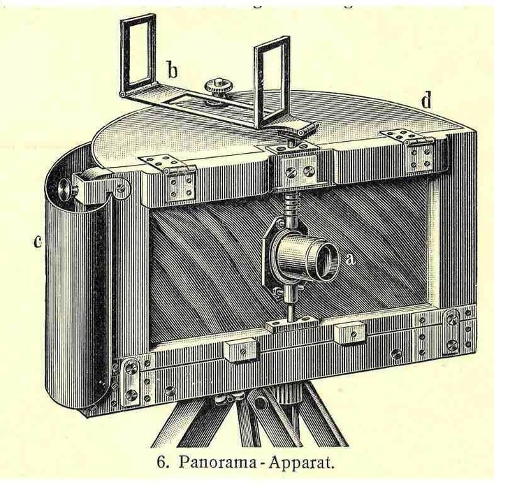 Joseph Puchberger's panoramic camera.