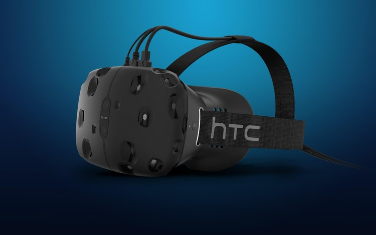 Vive Virtual Reality headset by HTC and Valve