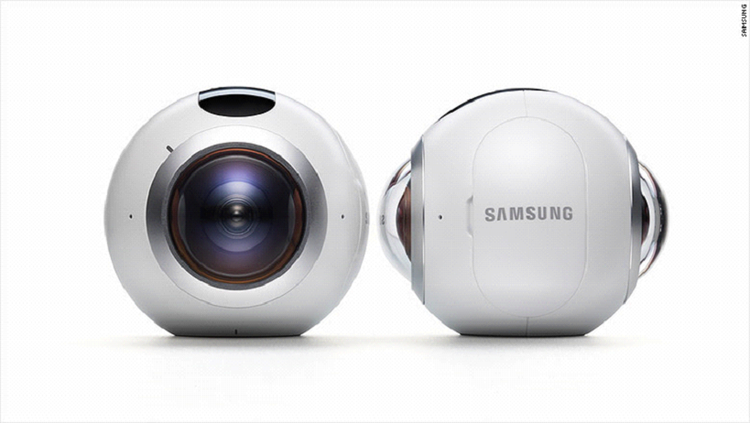 Samsung's freshly announced GearVR 360 Camera