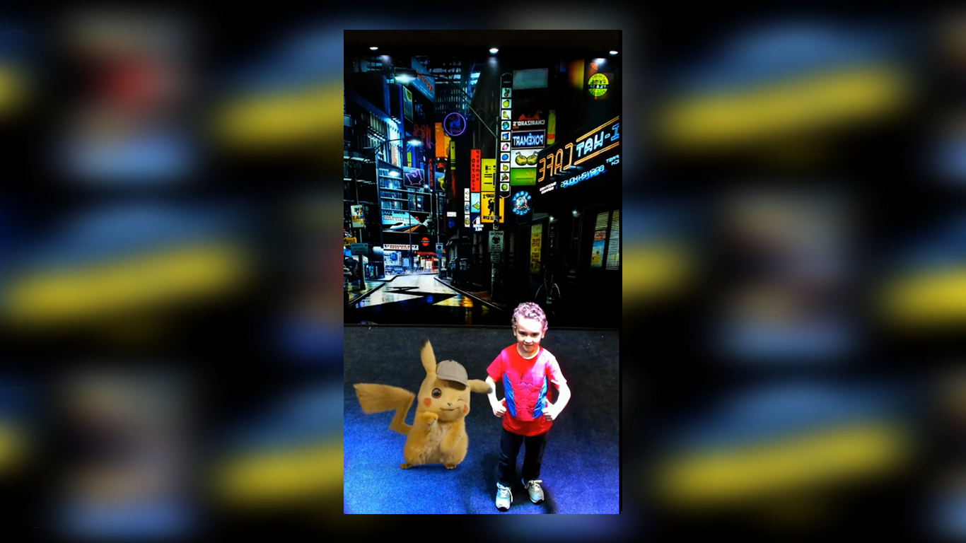 INDE's Augmented Reality Photo Booth Brings Pikachu to 7-Eleven's