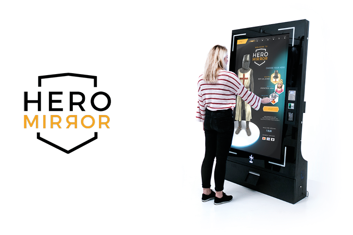 Heromirror Virtual Mirror An Augmented Reality Photo Booth Inde