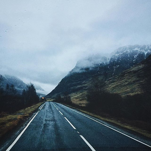 That's Glencoe done, and I'm back in a few weeks anyway -- will have invested in an umbrella by then Glencoe, Scotland // #vsco #vscocam #scotland #glencoe #roadtrip #hike #explore #nature #mountains #winter #rain