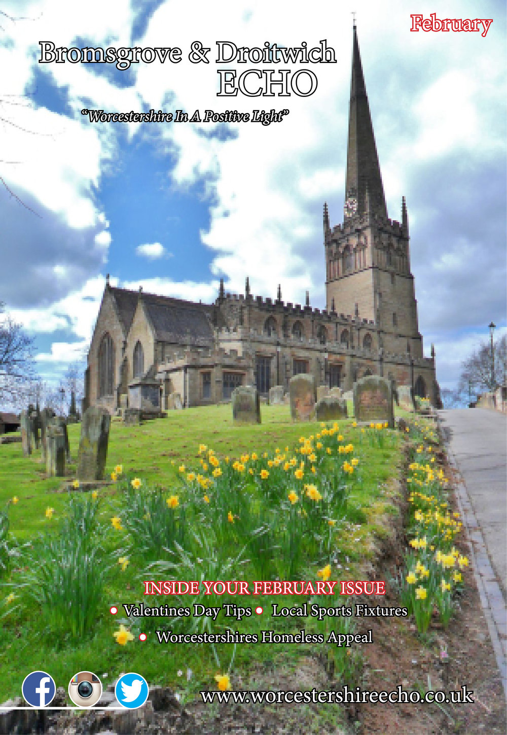 The February Edition - The New Look Bromsgrove & Droitwich Echo is now out!