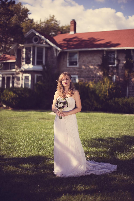 bride wedding smile flowers bouquet pretty THPHOTO Linden Point House Connecticut