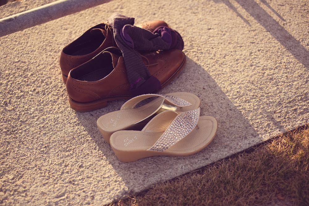 shoes barefoot sunshine beach