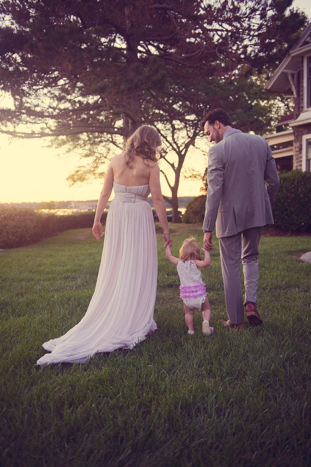 bride groom husband wife niece portrait sunset THPHOTO