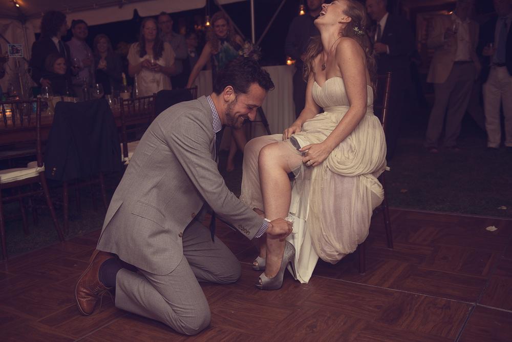 bride groom husband wife garter married legs