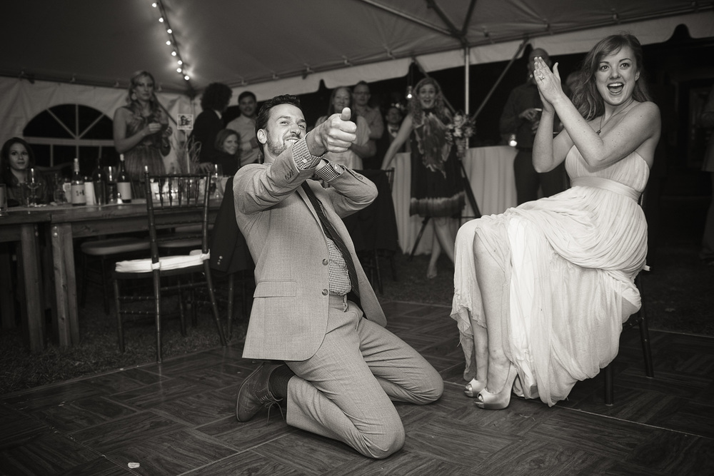 bride groom husband wife garter married fling