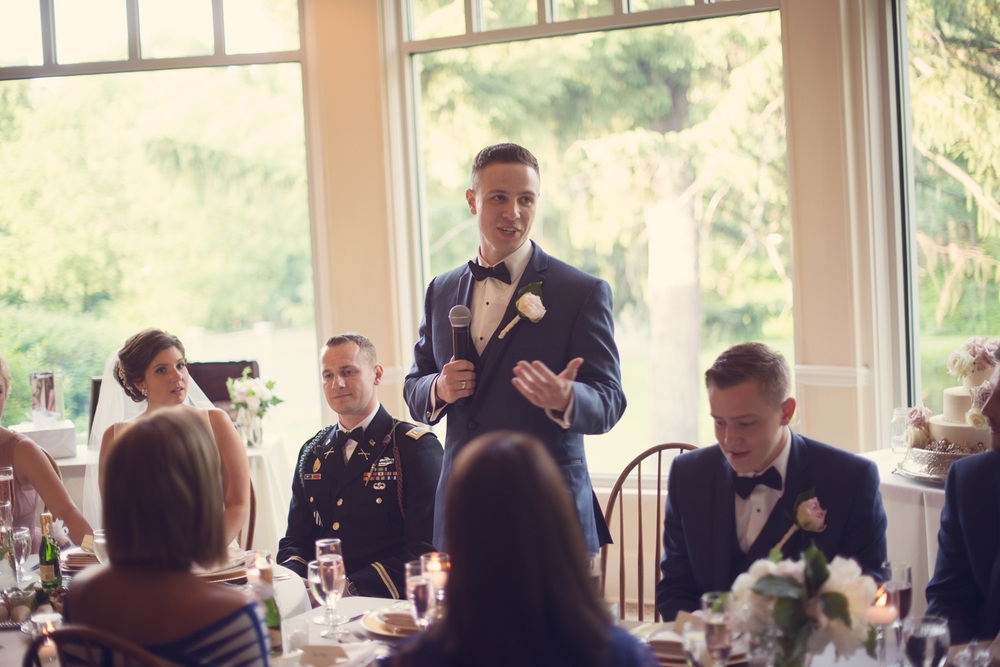 wedding bride groom reception toast speech best man