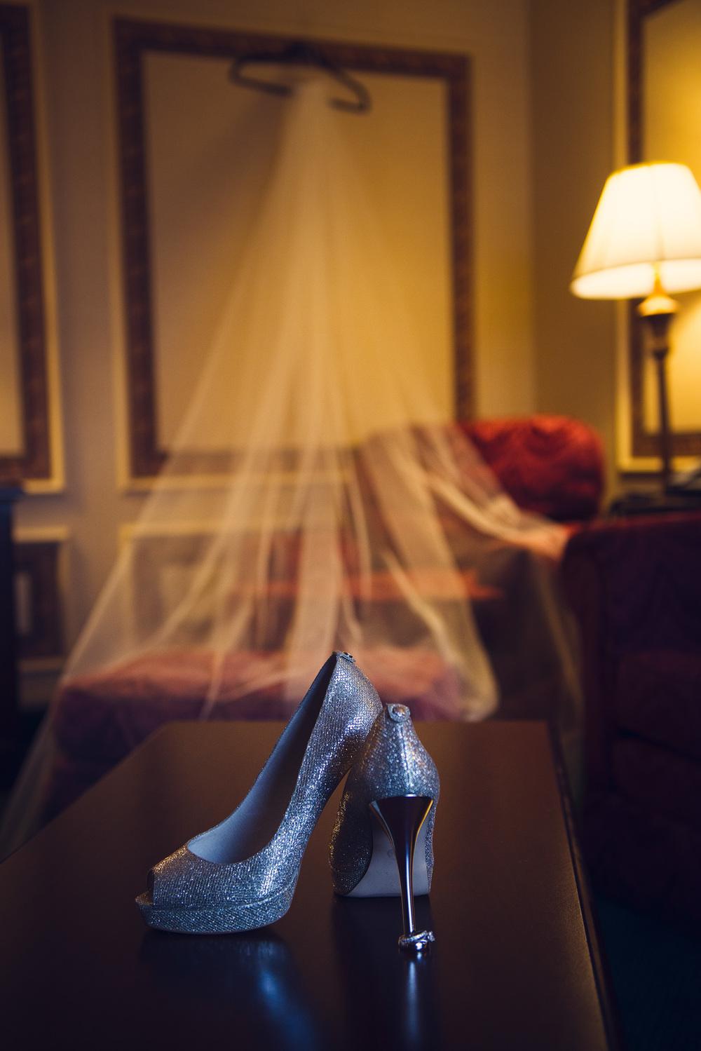 shoes sparkles heels veil