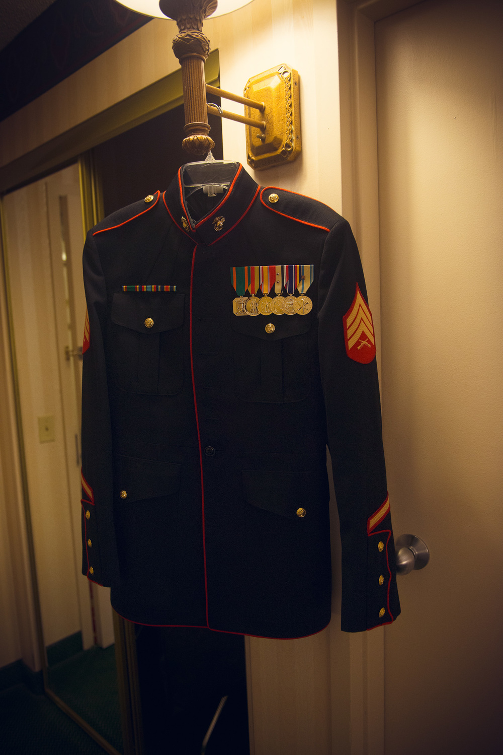 marine jacket armed service American