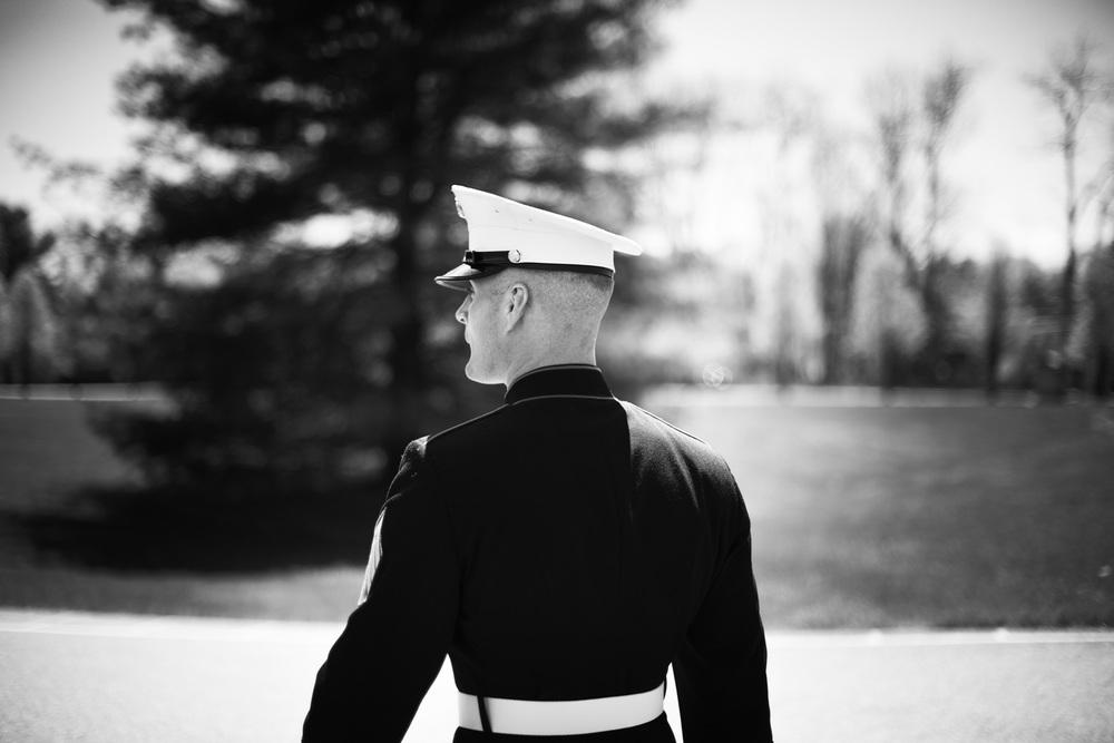 American Marine groom bw