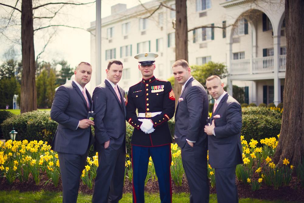 groom groomsmen gentlemen portrait THPHOTO