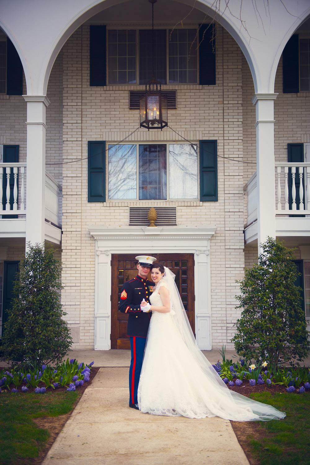 bride groom marine outdoor smiling husband wife portrait THPHOTO