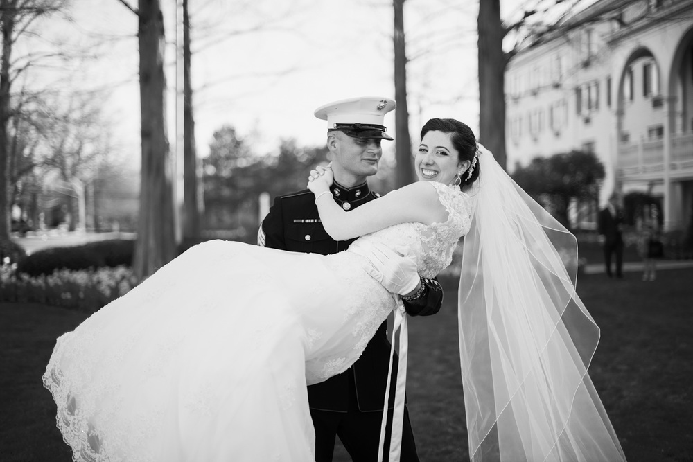 bride groom marine outdoor love holding carrying husband wife portrait THPHOTO