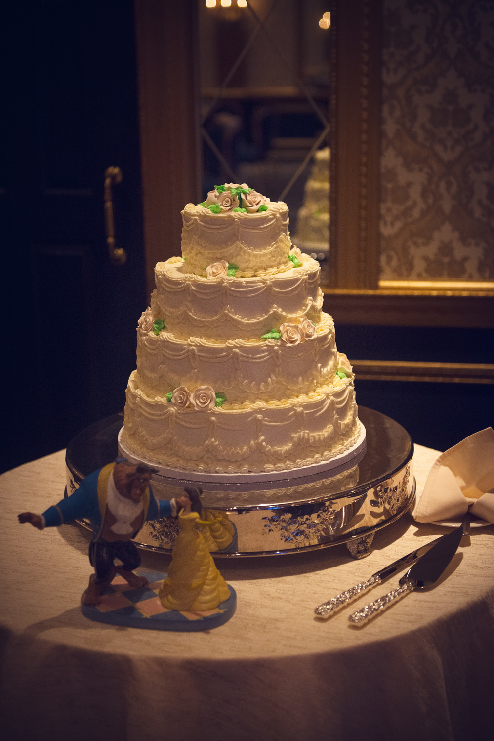 Beauty and the Beast cake Disney