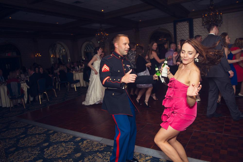 guest dancing reception smiling portrait THPHOTO