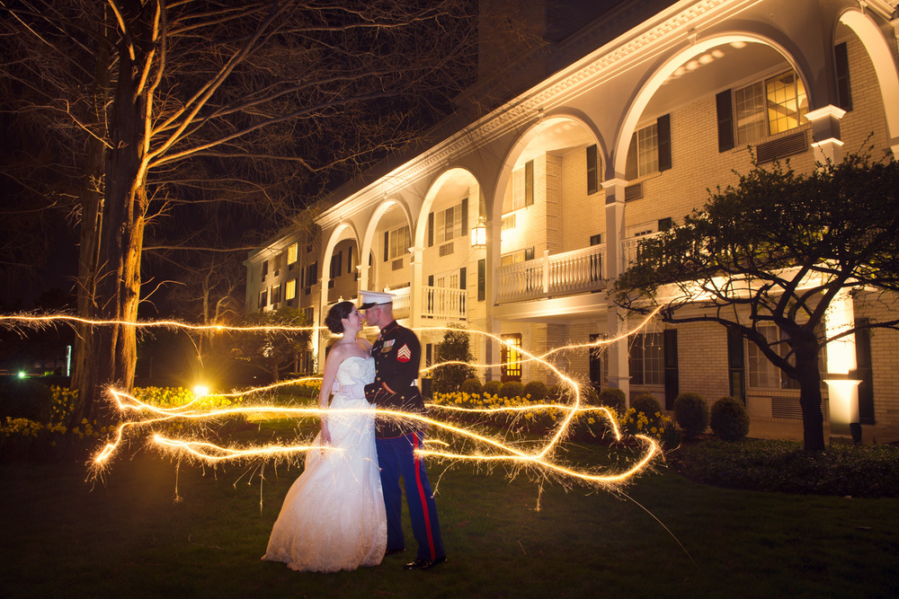 bride groom husband wife sparklers long exposure magical THPHOTO