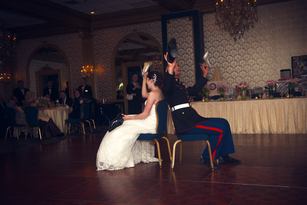 bride groom newlywed game shoelywed dance husband wife reception