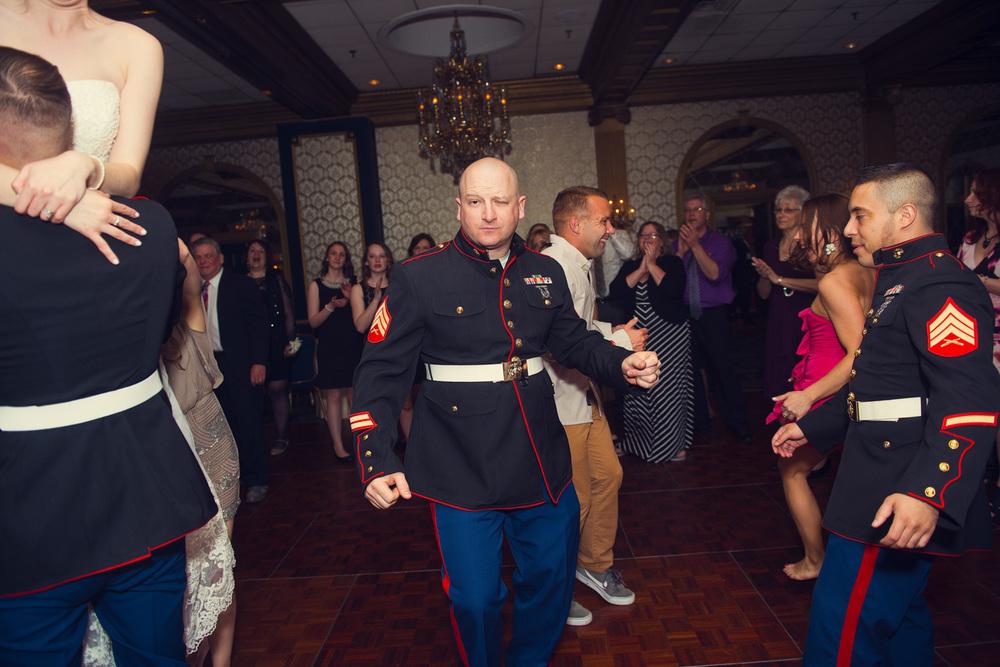 guest dancing reception smiling portrait THPHOTO Marine