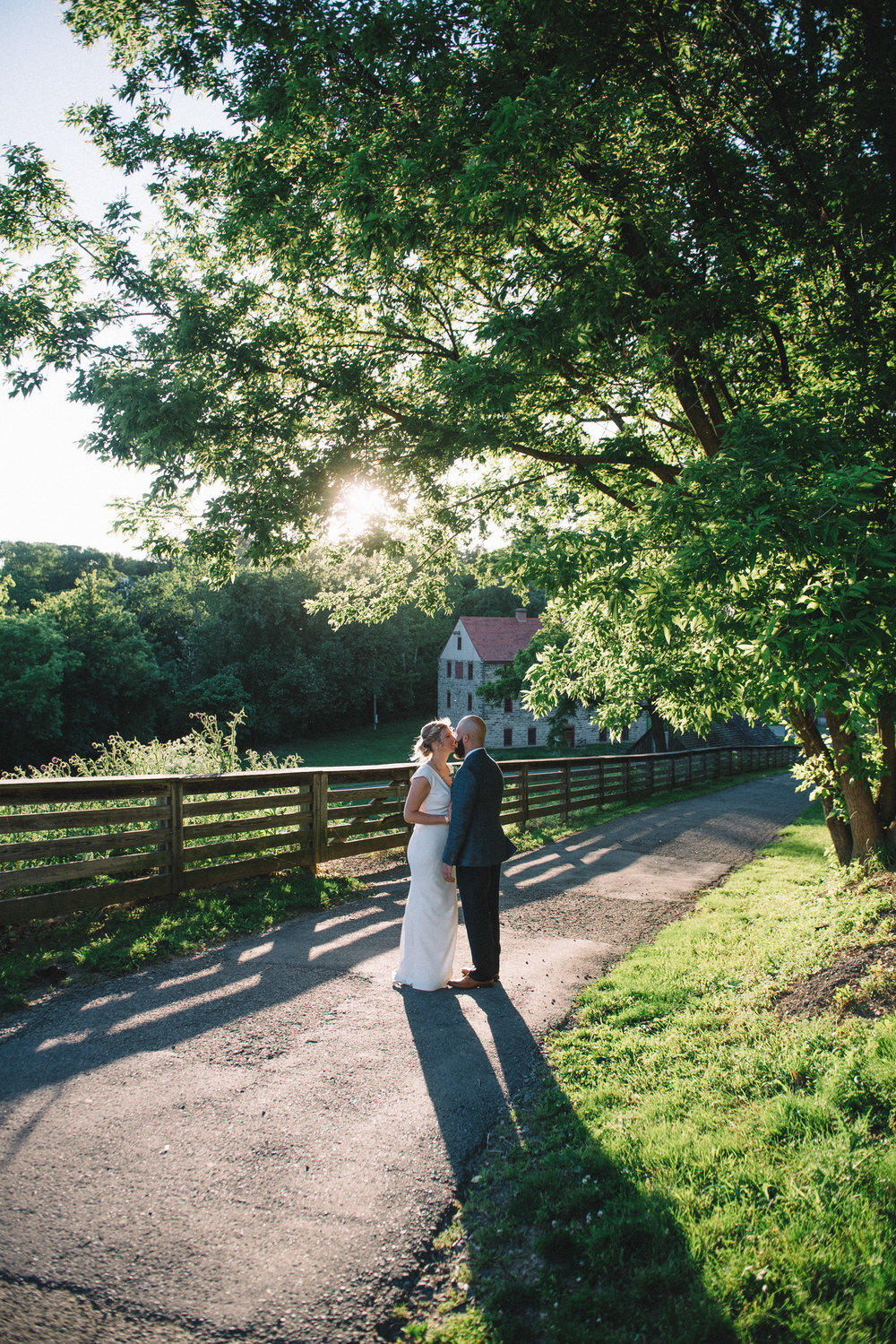 bride groom husband wife couple marriage wedding sunshine portrait Bethlehem Lehigh Valley THPHOTO