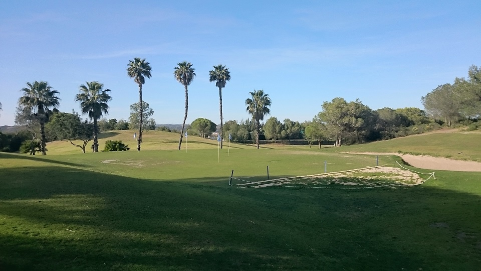 practice green at Castro Marim