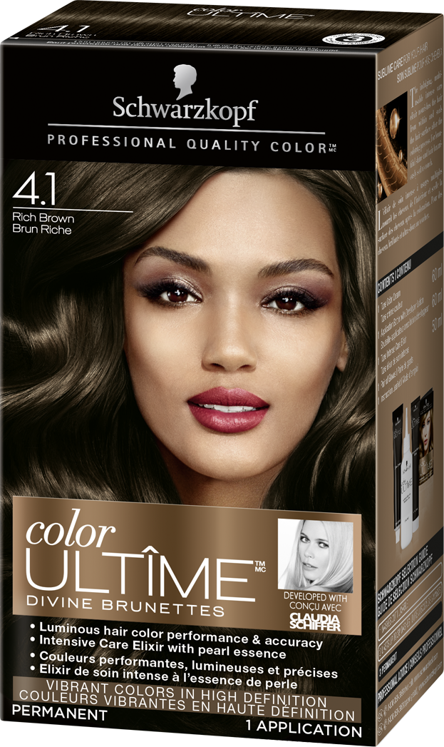 Schwarzkopf Colour ULTIME Rich Brown 4.1