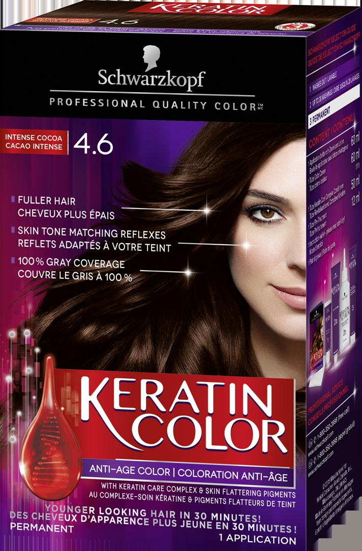 Schwarzkopf Keratin Colour Intense Cocoa 4.6