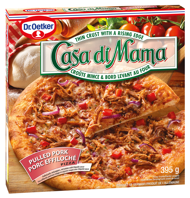 Dr. Oetker Casa di Mama Pulled Pork Pizza