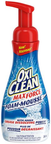 Oxi Clean Max Force Laundry Foam Pre-Treater