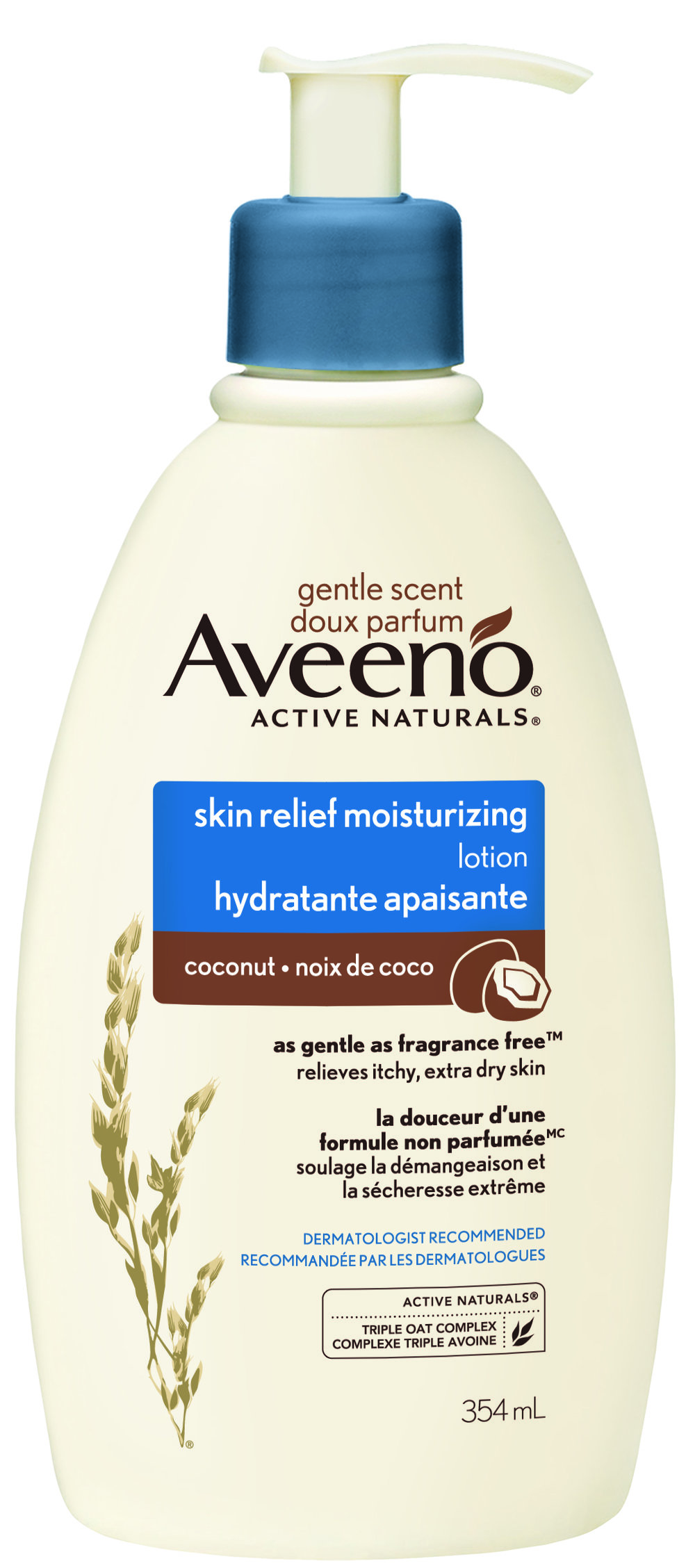 Aveeno Skin Relief Gentle Scent Coconut Lotion