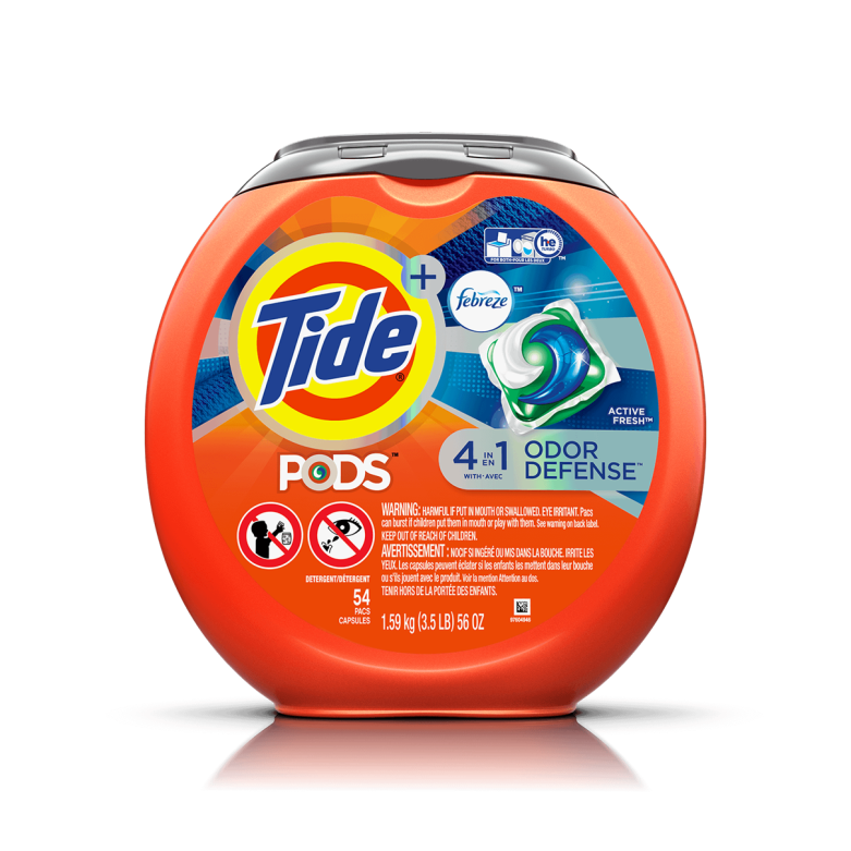 Tide PODS Plus Febreze Odor Defense