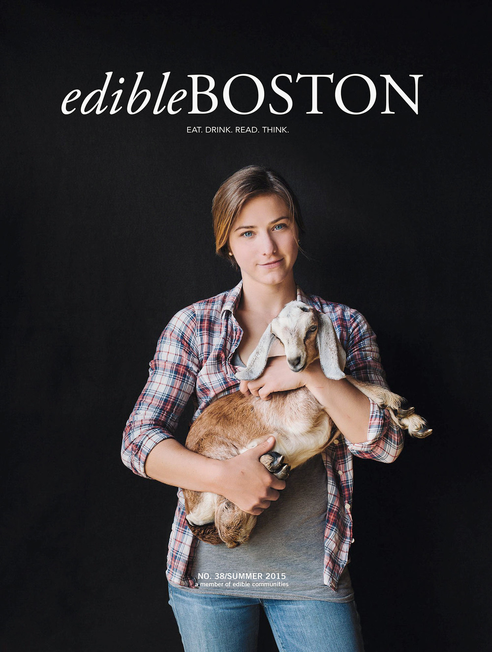 "EdiBLE BOSTON(Cover PHOTO) - ""Magical Cheese Making at Dancing Goats Dairy"""