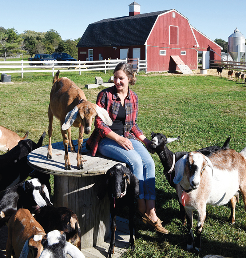 "North SHORE MAGAZINE - ""Goat Farming in Newbury"""