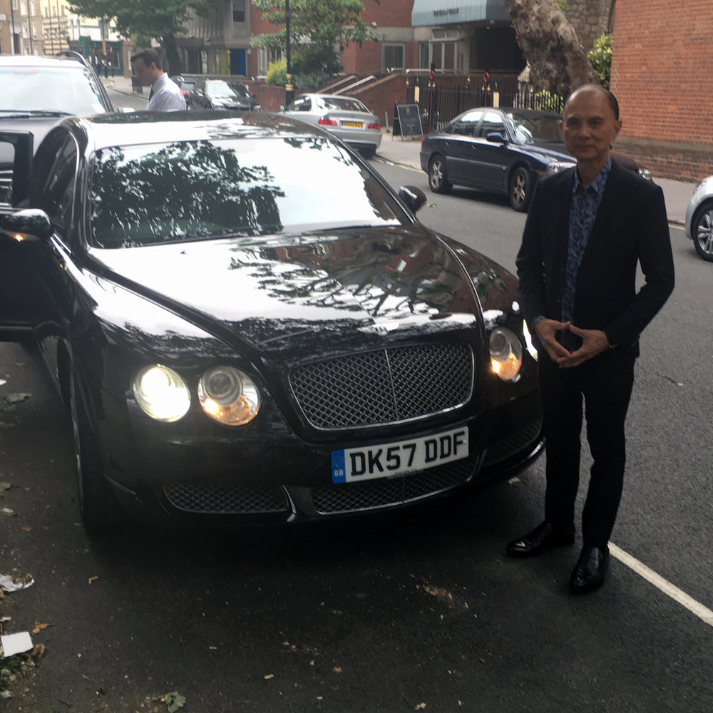 Jimmy Choo Hatton And Berkeley Bentley Flying Spur