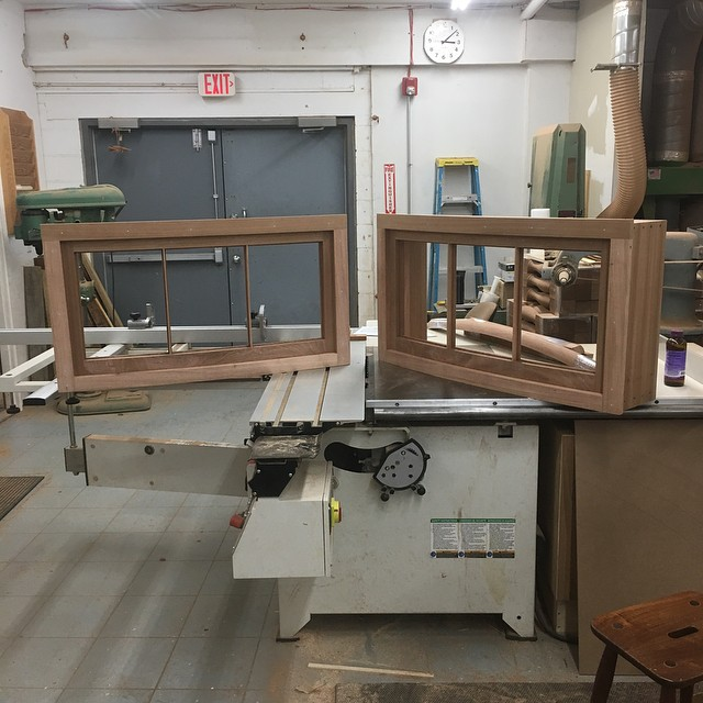A couple of curved basement units to start out the new year - these are heading to Beacon Hill - get in touch with us for all of your historical sash and window reproduction needs! #woodworking #millwork #architecturalmillwork #windows #historical #historichomes #boston #beaconhill