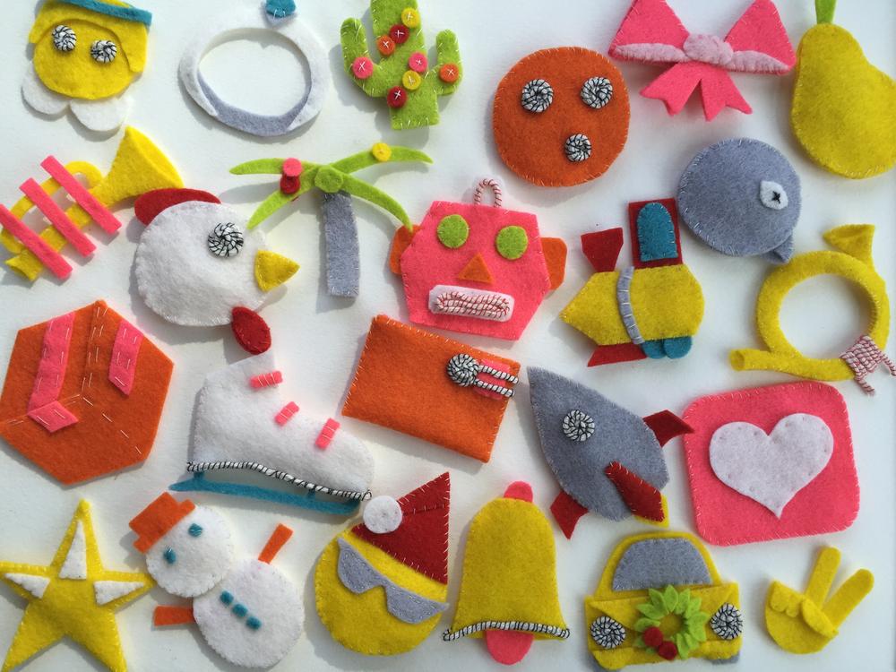 Emoji Advent Calendar by Rebecca Pitts