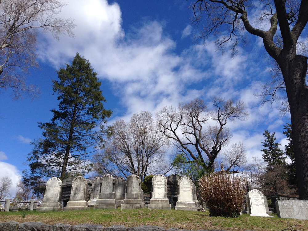 The Sleepy Hollow Cemetery by Rebecca Pitts
