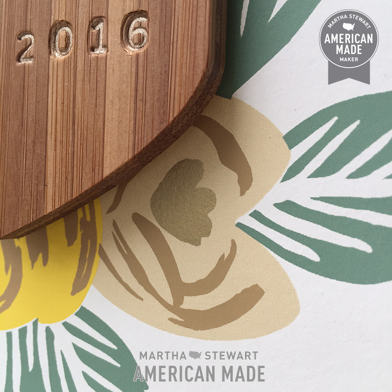 Rebecca Pitts for the Martha Stewart American Made Collection at Amazon Handmade