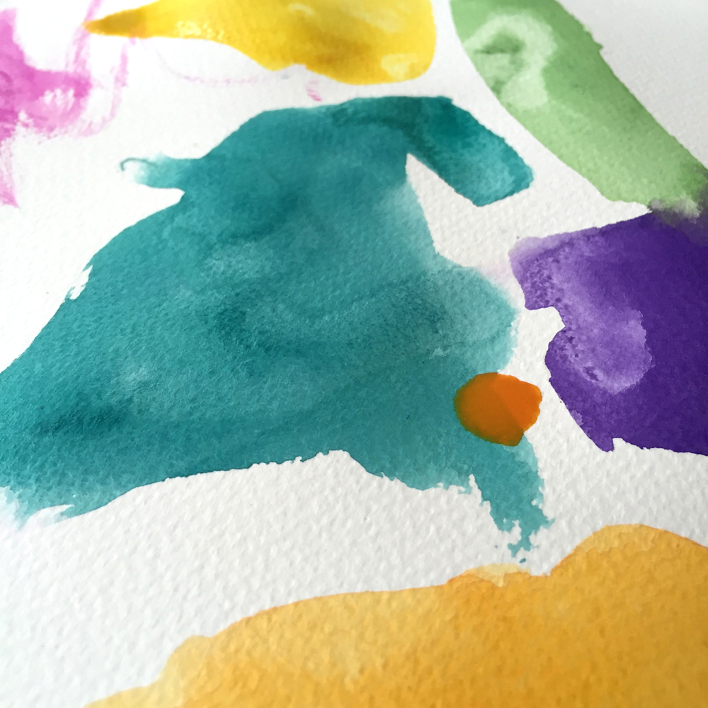Watercolor Painting with Kids by Rebecca Pitts