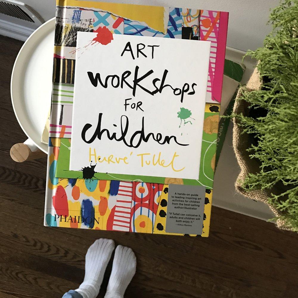 Notes on Art Workshops for Children by Hervé Tullet