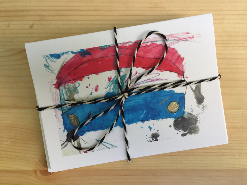 DIY Notecard Sets of Your Child's Artwork by Rebecca Pitts for Dear Handmade Life - 03.jpg