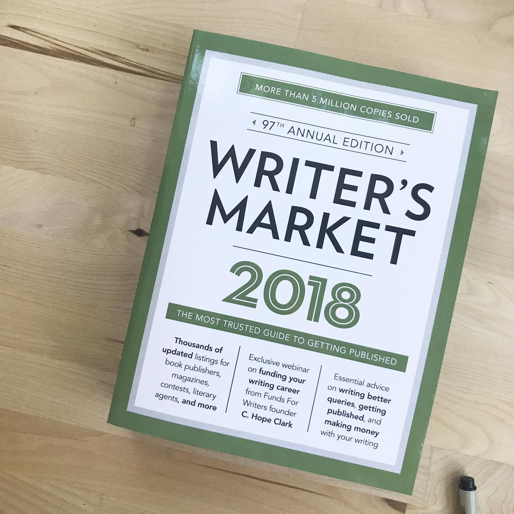 The Writer's Market 2018