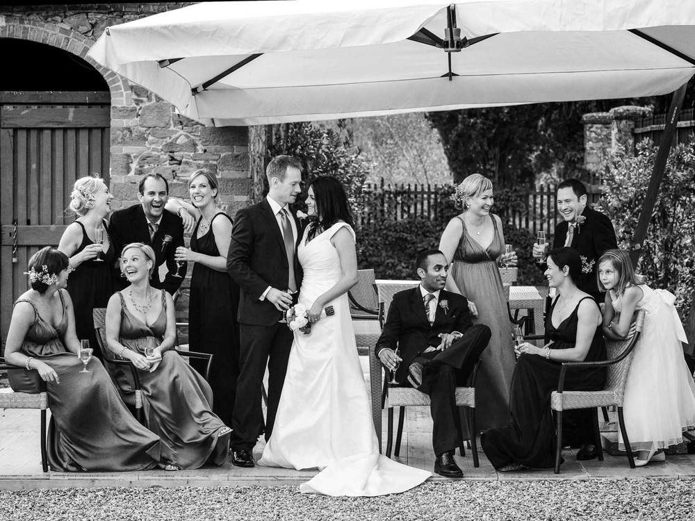 Tuscany wedding - Bridal Party