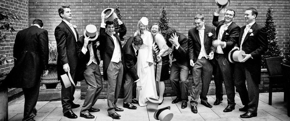 London wedding - Bridal party